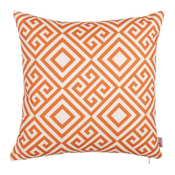 Oranžový povlak na polštář Apolena Summer Dream, 43x43cm