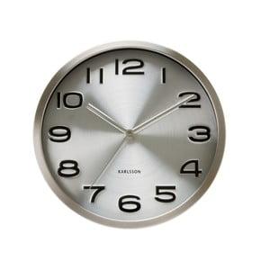 Stříbrné hodiny Present Time Maxie