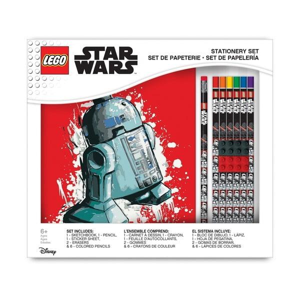 Set zápisníku apsacích potřeb LEGO® Star Wars