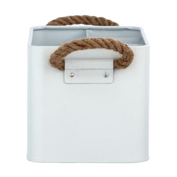 Bílý koupelnový box Wenko Gara
