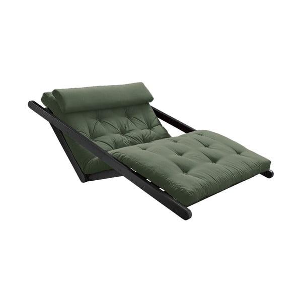 Canapea extensibilă Karup Design Figo Black, verde