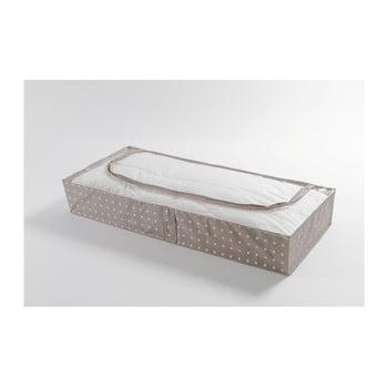 Cutie mică pentru depozitare Compactor Dots, 46 x 107 cm, bej de la Compactor