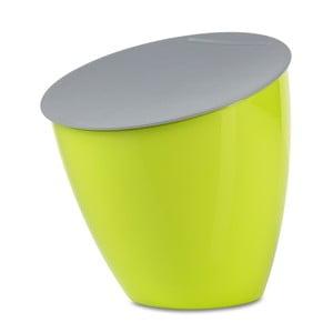 Limetkově zelený odpadkový koš na kuchyňskou linku Rosti Mepal Calypso