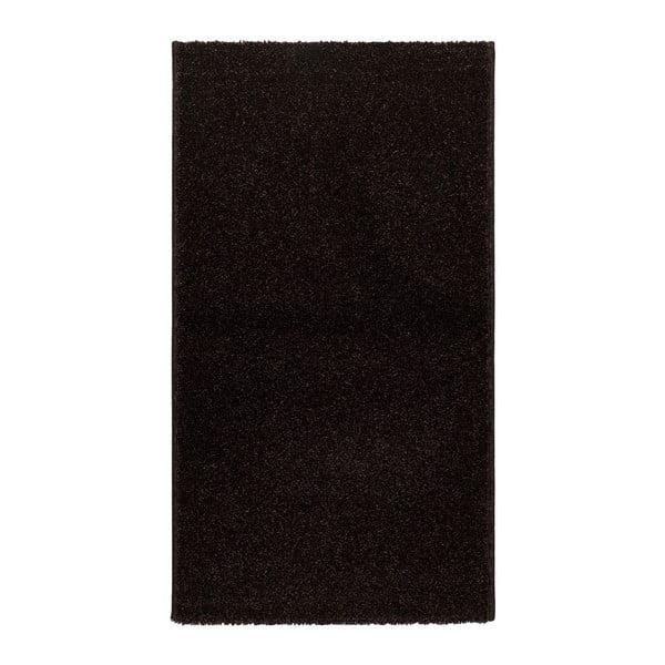 Czarny dywan Universal Veluro Negro, 57x110cm