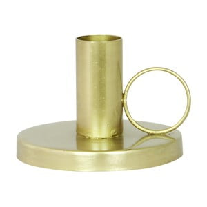 Stojan na svíčku Handle Brass
