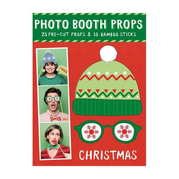Vánoční rekvizity (nejen) do fotobudky Galison Mudpuppy Photo Booth Props Christmas