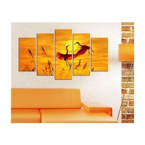 Tablou din mai multe piese Insigne Huntago, 102 x 60 cm