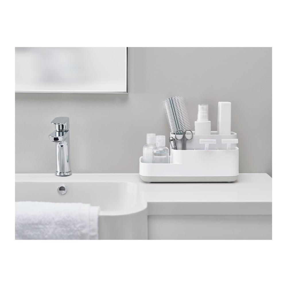 Bílý univerzální koupelnový stojánek Joseph Joseph EasyStore