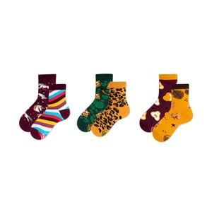 Sada 3 párů dětských ponožek v dárkovém balení Many Mornings Unicorn, vel. 31–34