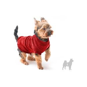 Červený svetřík pro psy Marendog Trip, vel. L