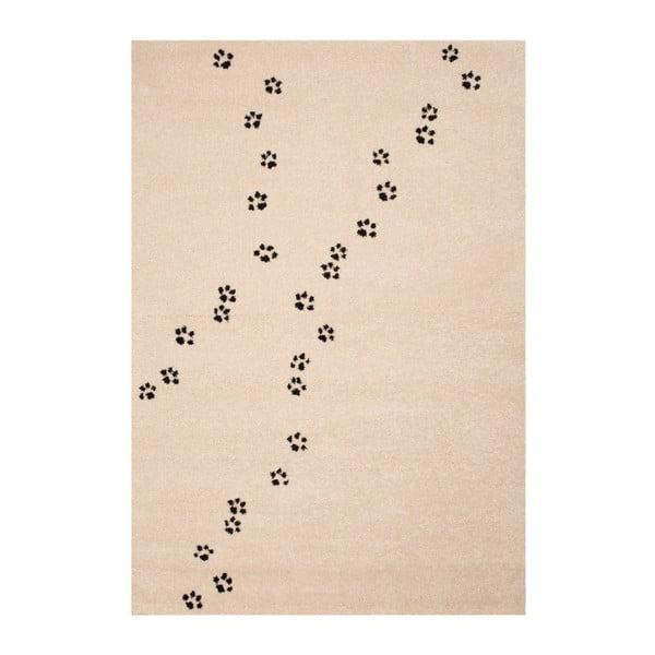 Detský hnedý koberec Zala Living Tepots, 120×170cm