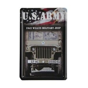 Cedule US Army, 15x21 cm