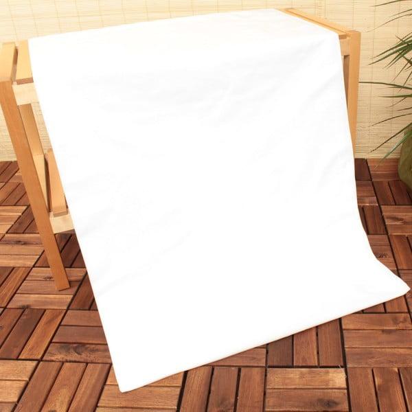 Elastické prostěradloU.S. Polo Assn White, 100x200 cm