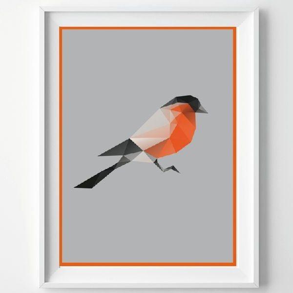 Plakát Birdie, A3