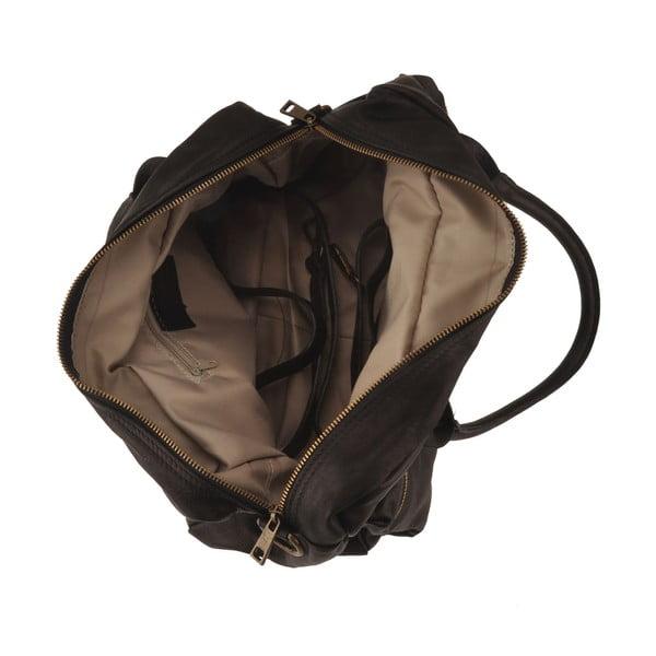 Černá kožená kabelka Ore Diece Stama