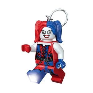 Svítící klíčenka LEGO® DC Super Heroes Harley Quinn