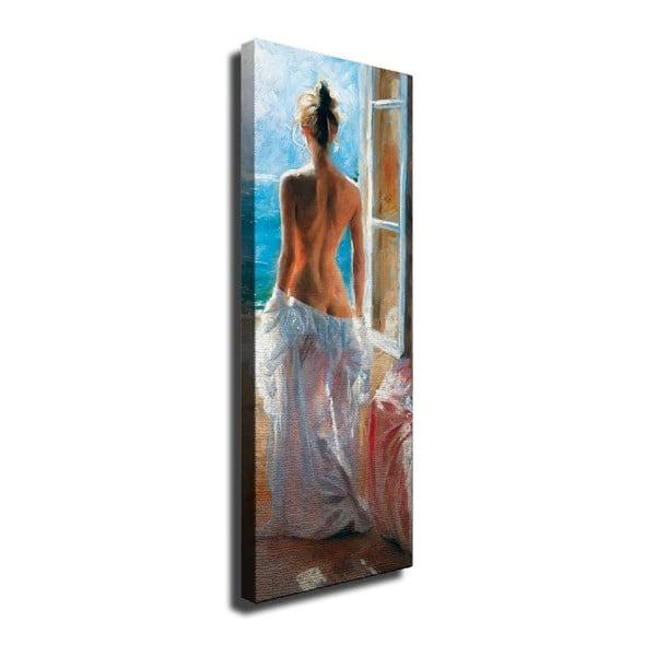Window vászon fali kép, 30 x 80 cm