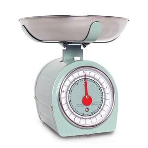 Zelená kuchyňská váha Sabichi Retro