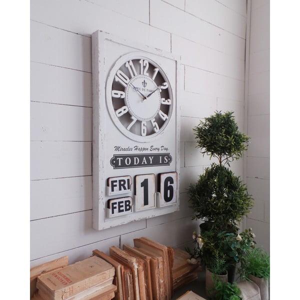 Nástěnné hodiny Perpetuo Calendar, 71 cm