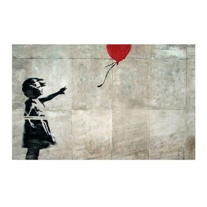 Balloon Girl, 81x51 cm