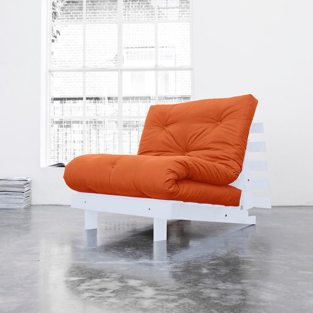 Variabilní křeslo Karup Roots Cool Gray/Orange
