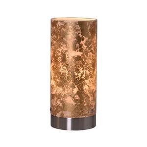 Stolní lampa zlaté barvy Naeve Magda, výška 20 cm