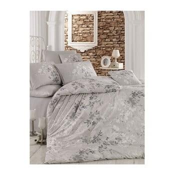 Lenjerie de pat cu cearșaf Matti, 200 x 220 cm de la Pearl Home