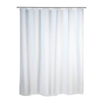 Perdea duș anti mucegai Wenko, 180x200cm, alb imagine