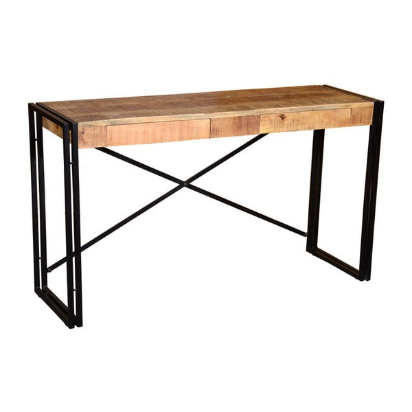 Konzolový stolek z mangového dřeva a kovu VIDA Living Orleans