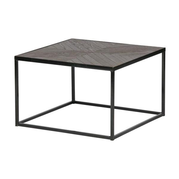 Konferenční stolek s deskou z masivního dřeva De Eekhoorn Rio, výška33cm