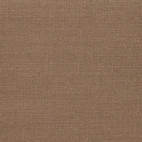 Puf ve velbloudí hnědé barvě Vivonita Scarlet Linen, 105x39cm