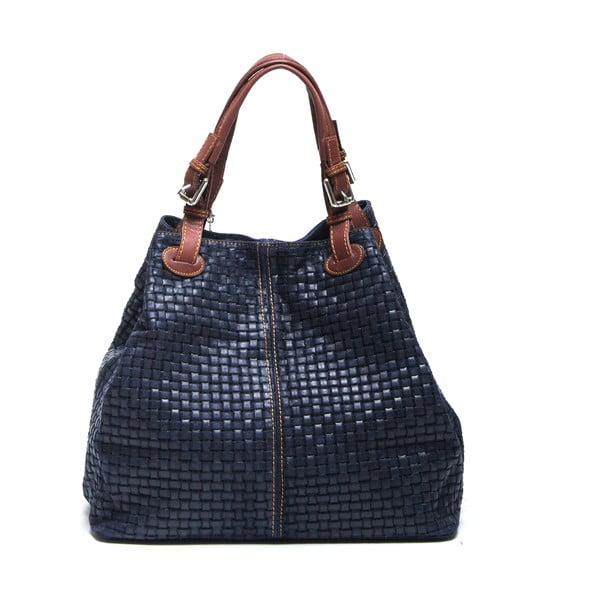Kožená kabelka Isabella Rhea 858 Blu