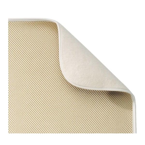 Béžová odkapávací podložka InterDesign iDry,šířka46cm