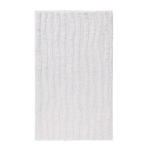 Bílá koupelnová předložka Aquanova Taro, 60x 100cm