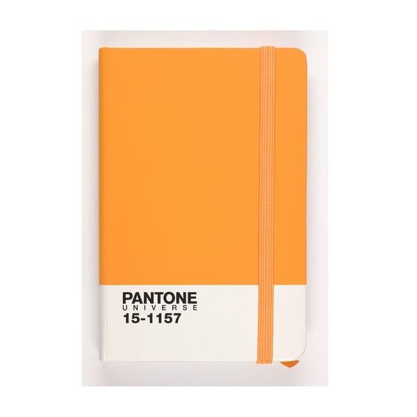 Zápisník Rubber Large Flame Orange 18-3949