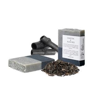 Přírodní mýdlo s aktivním uhlím a černou rýží HF Living