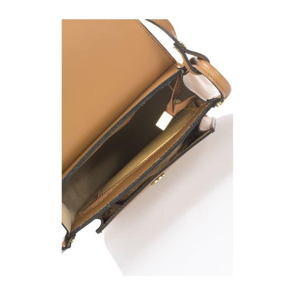 Světle hnědá kožená kabelka Lisa Minardi Bycast