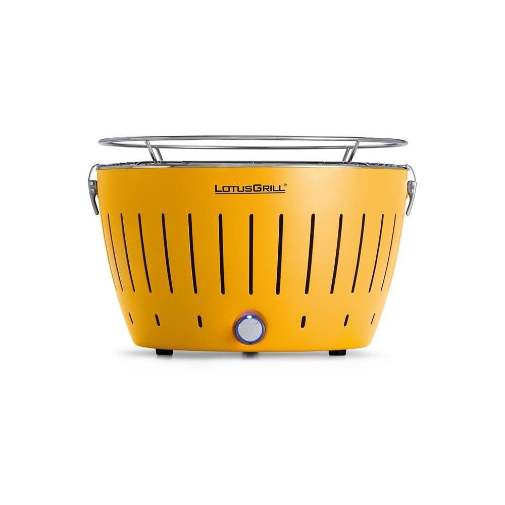 Žlutý bezkouřový gril LotusGrill Corn
