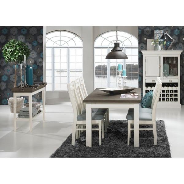 Bílý příruční stolek Canett Skagen Tray