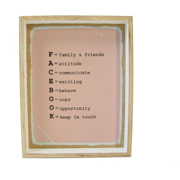 Fotorámeček Plywood, 19x24 cm