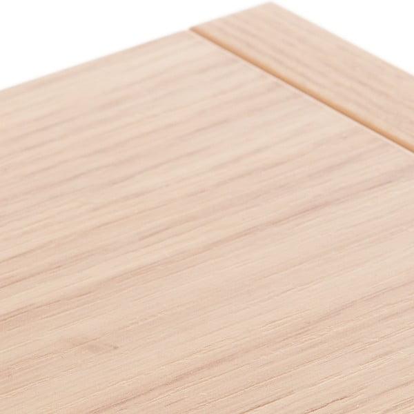Modulová police Tetris Wood
