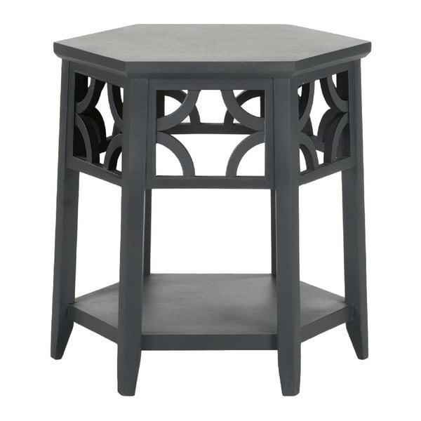 Odkládací stolek Safavieh Charcoal
