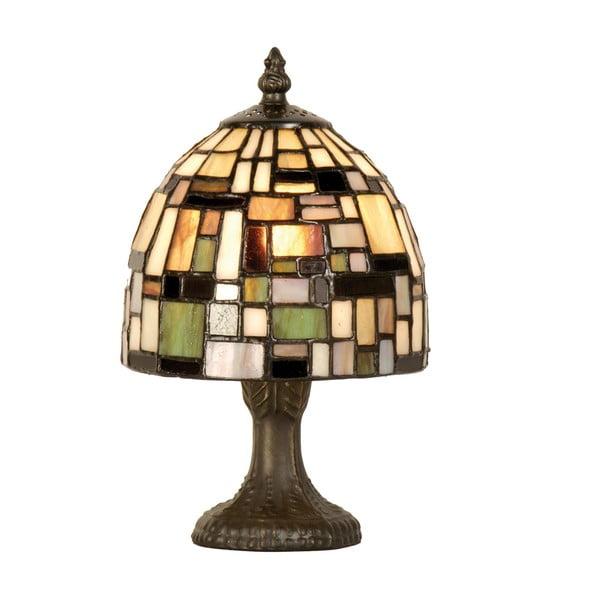 Tiffany stolní lampa Patchwork