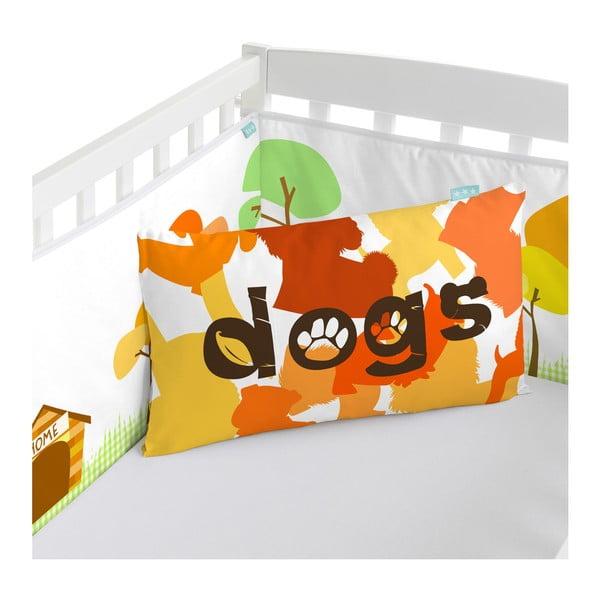 Výstelka do postýlky Dogs, 70x70x70 cm