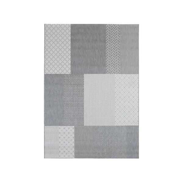 Koberec vhodný i do exteriéru Patio Grey, 80x150 cm