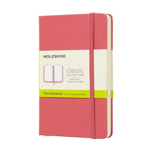 Różowy notatnik w twardej oprawie Moleskine Daisy, 192 stron