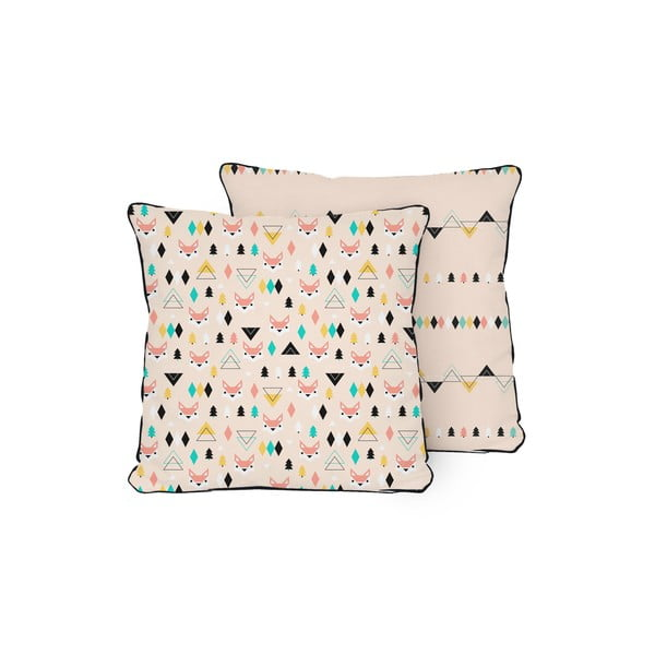 Polštář Pillow Fox, 45x45 cm