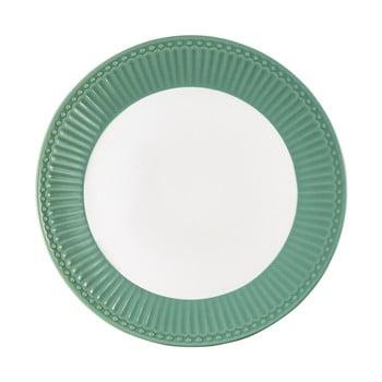 Farfurie din ceramică Green Gate Alice, ø 23 cm, verde închis de la Green Gate