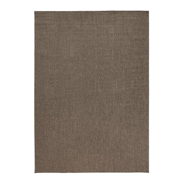 Hnedý obojstranný koberec Bougari Miami, 120 x 170 cm