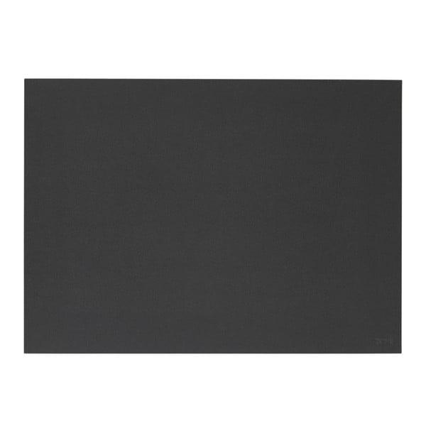 Lino fekete tányéralátét, 30x40 cm - Zone